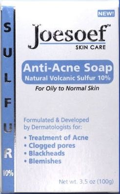 Joesoef Skin Care Anti Acne Soap Natural Volcanic Sulfur